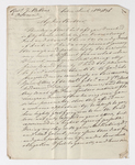 Friedrich Haas letter to Justin Perkins, 1836 March 26