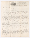 Joseph Holdich letter to Justin Perkins, 1863 December 23