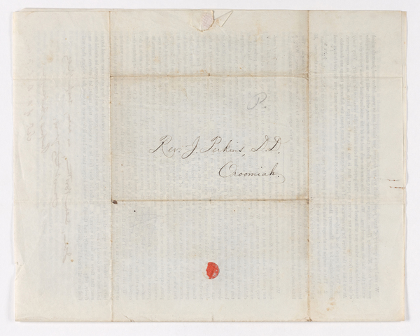 Rufus Anderson letter to Justin Perkins, 1845 May 23