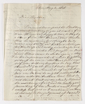 Friedrich Haas letter to Justin Perkins, 1836 May 2