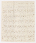 Abby Bass Cozzens letter to Charlotte Bass and Justin Perkins, 1835 May 6