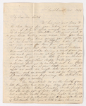 Abby Bass and Samuel Woodworth Cozzens letter to Charlotte Bass and Justin Perkins, 1836 December