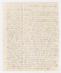 Abby Bass and Samuel Woodworth Cozzens letter to Charlotte Bass and Justin Perkins, 1834 August 31 to September 1