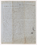 Eli Benedict Clark letter to Justin Perkins, 1851 October 13