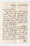Keith Edward Abbott letter to Justin Perkins, 1863 August 24