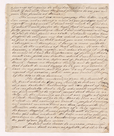 Christian Gottlieb Hoernle letter to Justin Perkins, 1836 January 14