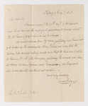 Edward Burgess letter to Justin Perkins, 1846 September 9