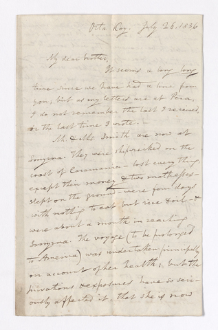 William Goodell letter to Justin Perkins, 1836 July 26