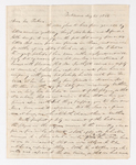 William C. Jackson letter to Justin Perkins, 1837 August 25