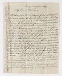 Friedrich Haas letter to Justin Perkins, 1836 May 20