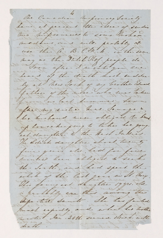 Letter from unidentified correspondent to Justin Perkins