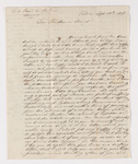 Christian Gottlieb Hoernle letter to Justin Perkins, 1836 September 17