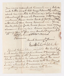 Keith Edward Abbott letter to Justin Perkins, 1846 December 8
