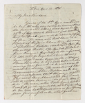 Friedrich Haas letter to Justin Perkins, 1836 April 12