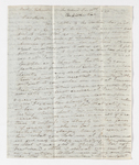 Thomas P. Johnston letter to Justin Perkins, 1837 December 11