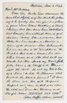 John Coffin Nazro letter and poem to Justin Perkins, 1843 January 2