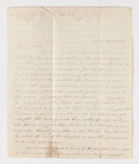 Mary Brewster McClure and Alexander Wilson McClure letter to Justin Perkins, 1836 August 12