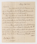 Edward Burgess letter to Justin Perkins, 1846 December 11