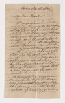 Friedrich Haas letter to Justin Perkins, 1836 October 28