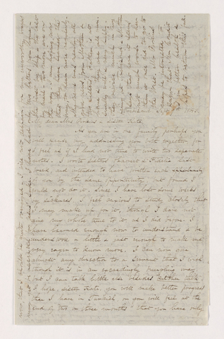 Isabella Holmes Porter Bliss letter to Charlotte Bass Perkins and Catherine Myers, 1843 September 9