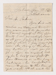 James Lyman Merrick letter to Justin Perkins, 1836 January 10