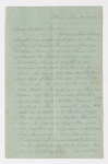 Simeon Howard Calhoun letter to Justin Perkins, 1860 May 8