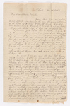 Abby Bass Cozzens letter to Charlotte Bass and Justin Perkins, 1836 November 28