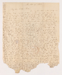 Letter from unidentified correspondent to Justin Perkins, 1842 October 17