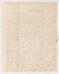 Asa Bullard letter to Justin Perkins, 1837 January 6