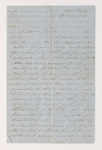 Letter from unidentified correspondent to Justin Perkins, 1855 March 6