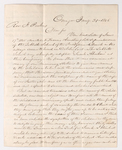 Franklin Slosson and William Jessup Armstrong letter to Justin Perkins, 1846 January 31 and February 18