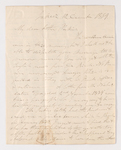 James Lyman Merrick letter to Justin Perkins, 1839 December 12