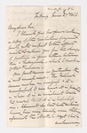 Keith Edward Abbott letter to Justin Perkins, 1863 June 27