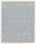 Alexander Wilson McClure letter to Justin Perkins, 1863 October 12
