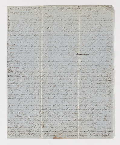 Mary Brewster McClure letter to Justin Perkins, 1864 June 5