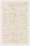James Lyman Merrick letter to Justin Perkins, 1837 December 10
