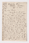 William Holt Yates letter to Justin Perkins, 1862 September 12