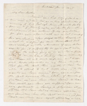 Thomas P. Johnston letter to Justin Perkins, 1836 January 17 and 26