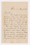 Sanford Richardson letter to Justin Perkins, 1856 May 12