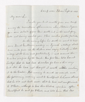 Joseph Reed letter to Justin Perkins, 1846 September 18