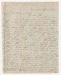 Josiah Peabody letter to Justin Perkins, 1846 September 17