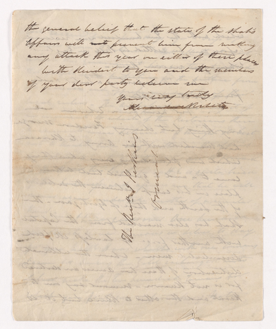 Alexander Nisbet letter to Justin Perkins, 1836 July 17