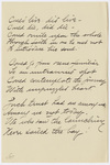 "Transcription of Emily Dickinson's ""Could live - did live"""