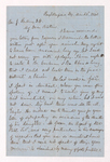 Austin Hazen Wright letter to Justin Perkins, 1863 March 2