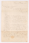James Pringle Riach letter to Rufus Anderson, 1836 October 25