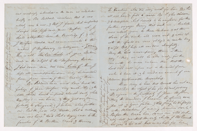William Gottlieb Schauffler letter to Justin Perkins, 1848 September 1