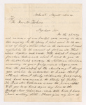 Luke and John Howard Sweetser letter to Justin Perkins, 1844 August 20