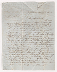 Josiah Peabody letter to Justin Perkins, 1848 May 30