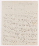Benjamin Schneider letter to Justin Perkins, 1836 July 21