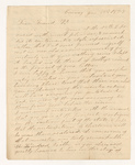John Chapin Thompson letter to Justin Perkins, 1827 January 23